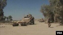 Pasukan marinir AS di provinsi Helmand (foto: dokumentasi).