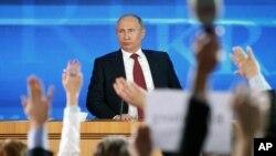 Prezident Putin bilan matbuot anjumani, Moskva, 20-dekabr, 2012