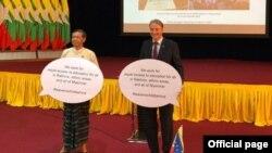ဓါတ္ပံု -European Union in Myanmar