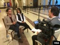 مصاحبه بهنود مکری با ریس ریچی و فریدا پینتو بازیگران اصلی فیلم