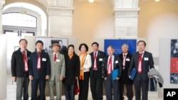 Phái đoàn người Việt từ Georgia tại Tòa nhà Russell ở Quốc hội Hoa Kỳ
