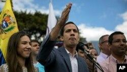 Lider opozicije i samoproglašeni lider Venecuele Juan Guaido