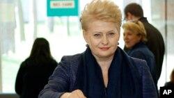 立陶宛總統格里包斯凱特。