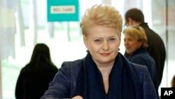 立陶宛总统格里包斯凯特。