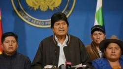 Evo Morales contraint à la démission