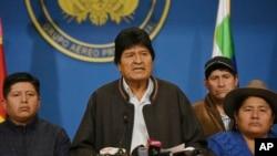 Situation confuse en Bolivie après la démission du président Evo Morales
