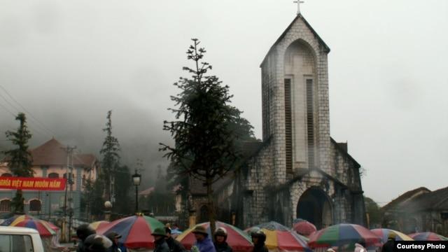 Nhà thờ Sapa ở Việt Nam