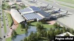 Diseño del nuevo Aeropuerto Internacional de Tegucigalpa que construye Emco dentro de la base militar de Palmerola, en Comayagua, Honduras.