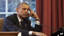 ولسمشر اوباما د سې شنبې په ورځ د روسیې د ولسمشر پوټین سره په ټلیفون کې خبرې وکړي.
