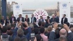 VOA英语视频: 前总统克林顿颁发百万美元霍特奖