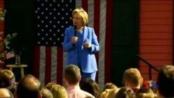 2016-05-16 美國之音視頻新聞: 桑德斯與希拉里在競選中強調經濟問題