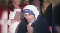 德蕾莎修女将在9月4日被封圣