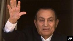 Ansyen Prezidan ejipsyen Hosni Mubarak