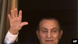 향년 91세로 별세한 호스니 무바라크 이집트 전 대통령.