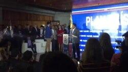 """Venezuela: Juan Guaidó es recibido en la presentación de el """"Plan País"""""""