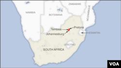 Pretoria, Johannesburg and Tembisa