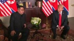 ڕێبەری کۆریای باکور دەڵێت کۆبوونەوەکەی ئەمڕۆ هەروا بە سانایی نەهاتووەتە دی