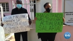 """Manifestação em Malanje: """"Corruptos no Lexus, magistrados na kupapata"""""""