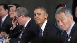 Đàm phán TPP giữa 12 nước bao gồm Việt Nam đạt 'tiến bộ đáng kể'