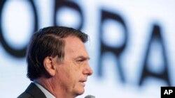 Brezilya Cumhurbaşkanı Bolsonaro