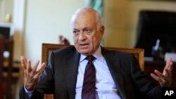 نبیل العربی دبیر کل اتحادیه عرب