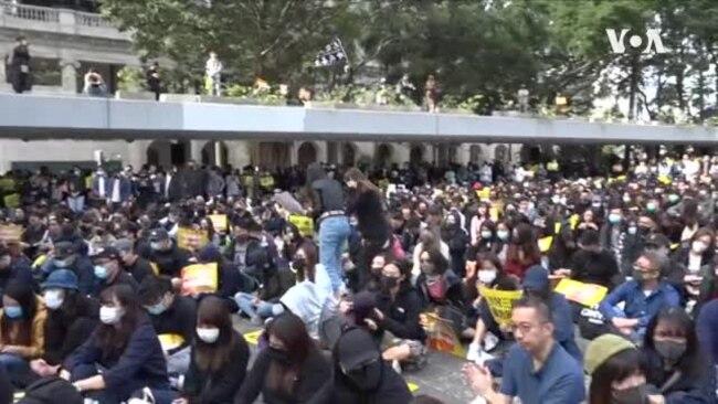 香港广告界牵头罢工五日抗争 冀各界跟随向港府施压