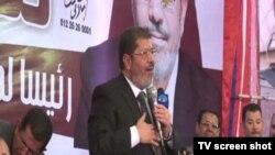 穆罕默德•穆爾西成為埃及第一位自由選舉產生的總統