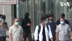 被中方拘押12名港人部分家属前往警署报案