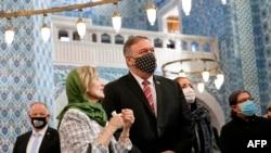 美國國務卿蓬佩奧11月17日訪問中東行旅。