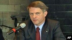美國國務院負責國際安全與核不擴散的助理國務卿托馬斯康特里曼資料照。