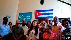 Rosa María Paya, hija del disidente cubano Oswaldo Paya, organizó un evento para reconocer al Secretario General De la Organización de Estados Americanos, Luis Almagro, por defender los derechos humanos en Cuba.