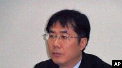 民進黨立委黃偉哲表示敲和平鐘 對兩岸和平來沒有實質意義