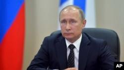 俄羅斯總統普京2016年8月31日資料照。