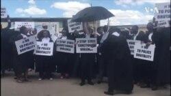 Zimbabwe Lawyers Stage Street Protest