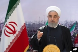 Rais anayemaliza muda wake Hassan Rouhani