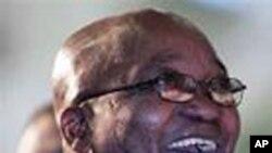 جنوبی افریقہ کے صدر جیکب زُوما