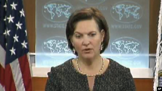 U.S. State Department Spokeswoman Victoria Nuland  (File)