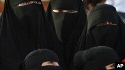 Saoudiennes lors du Festival Janadriyah, Riyadh, Arabie Saoudite, 1er avril 2010.