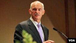 Perdana Menteri Yunani George Papandreou siap melakukan langkah-langkah penghematan anggaran.