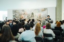 [뉴스풍경 오디오] 미국 내 첫 남북한 현대미술전 열려