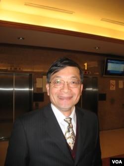 親民黨籍立委李桐豪(美國之音申華拍攝)