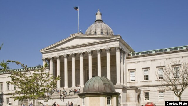 University College London where Dr. Amina Aitsi-Selmi is a Wellcome Trust Fellow. (Credit: UCL)