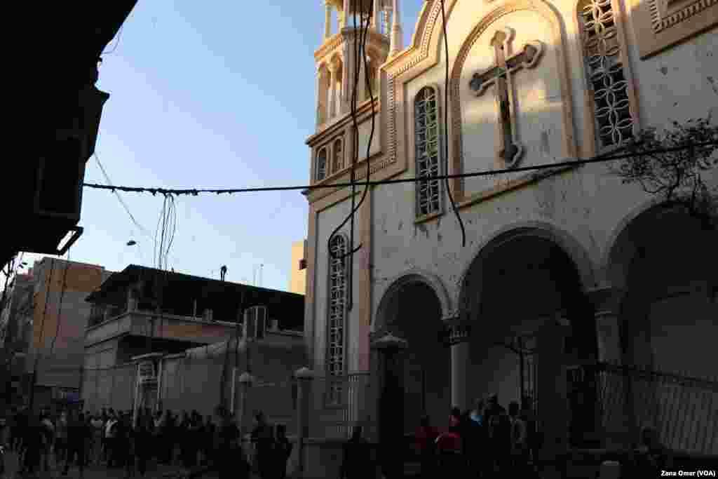Peqîna li taxê Wista ya bajarê Qamîşlî