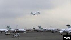 伊朗德黑兰的一个机场(资料照)