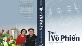 """Bìa cuốn sách """"Thư Võ Phiến""""."""