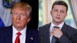 """Trump a demandé à Kiev d'enquêter sur Biden mais nie toute """"pression"""""""