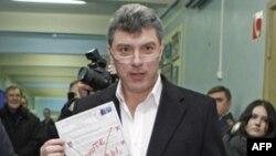 Испорченный бюллетень Бориса Немцова
