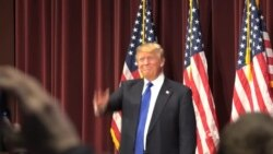 Trump Supporters, Critics Discuss Candidate Before Rally