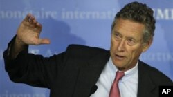 Olivier Blanchard, economic counselor of the International Monetary Fund, IMF, (FIle)