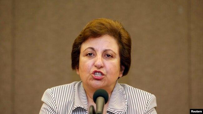 شیرین عبادی، حقوقدان ایرانی و برنده جایزه صلح نوبل